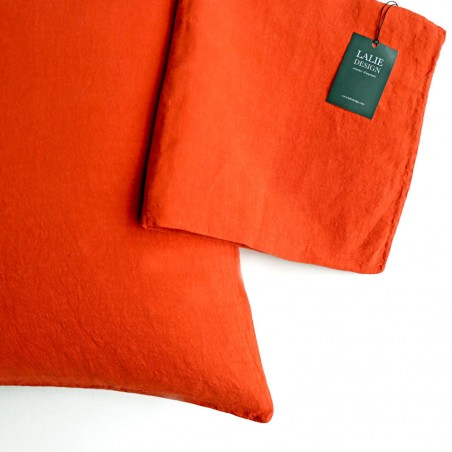 HOUSSE COUSSIN - orange