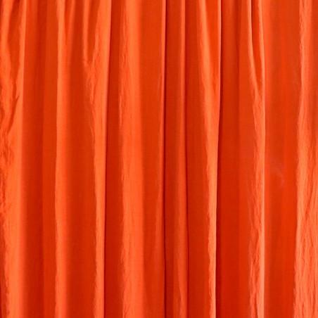 DESSUS DE LIT/RIDEAU orange