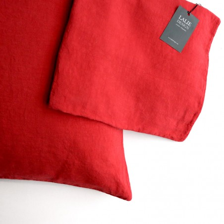 HOUSSE COUSSIN - rubis