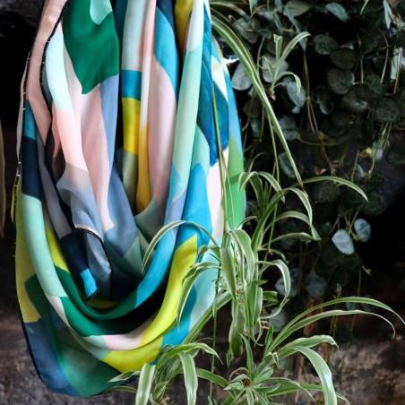 Foulard ARCHI pastel